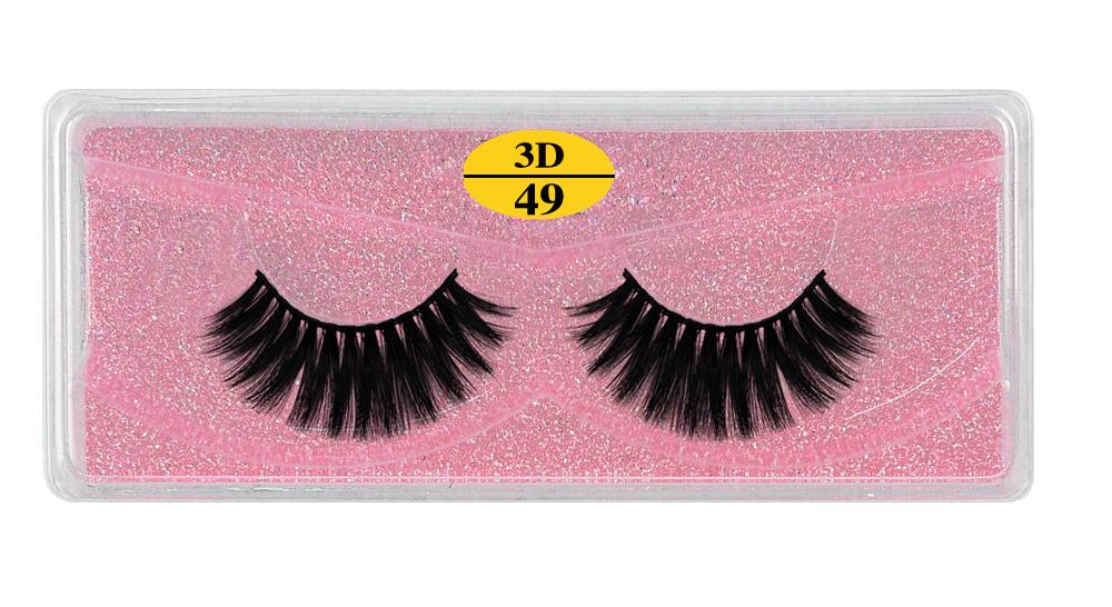 Hd989ab6a6b1746c18d387029a7719fceK - MB Eyelashes Wholesale 40/50/100/200pcs 6D Mink Lashes Natural False Eyelashes Long Set faux cils Bulk Makeup wholesale lashes