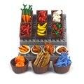 Конструктор «сделай сам», курица, тыква, рыба, фрукты, яйца, хот-дог, горшок, игрушка, запчасти MOC, городские аксессуары, кирпичи, совместимы со...