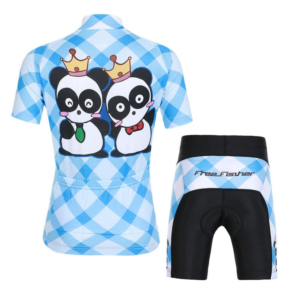 conjunto respirável bicicleta topo ropa ciclismo meninos