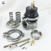 Turbo V band 50mm External Waste Gate Bypass Exhaust Manifold + Spring