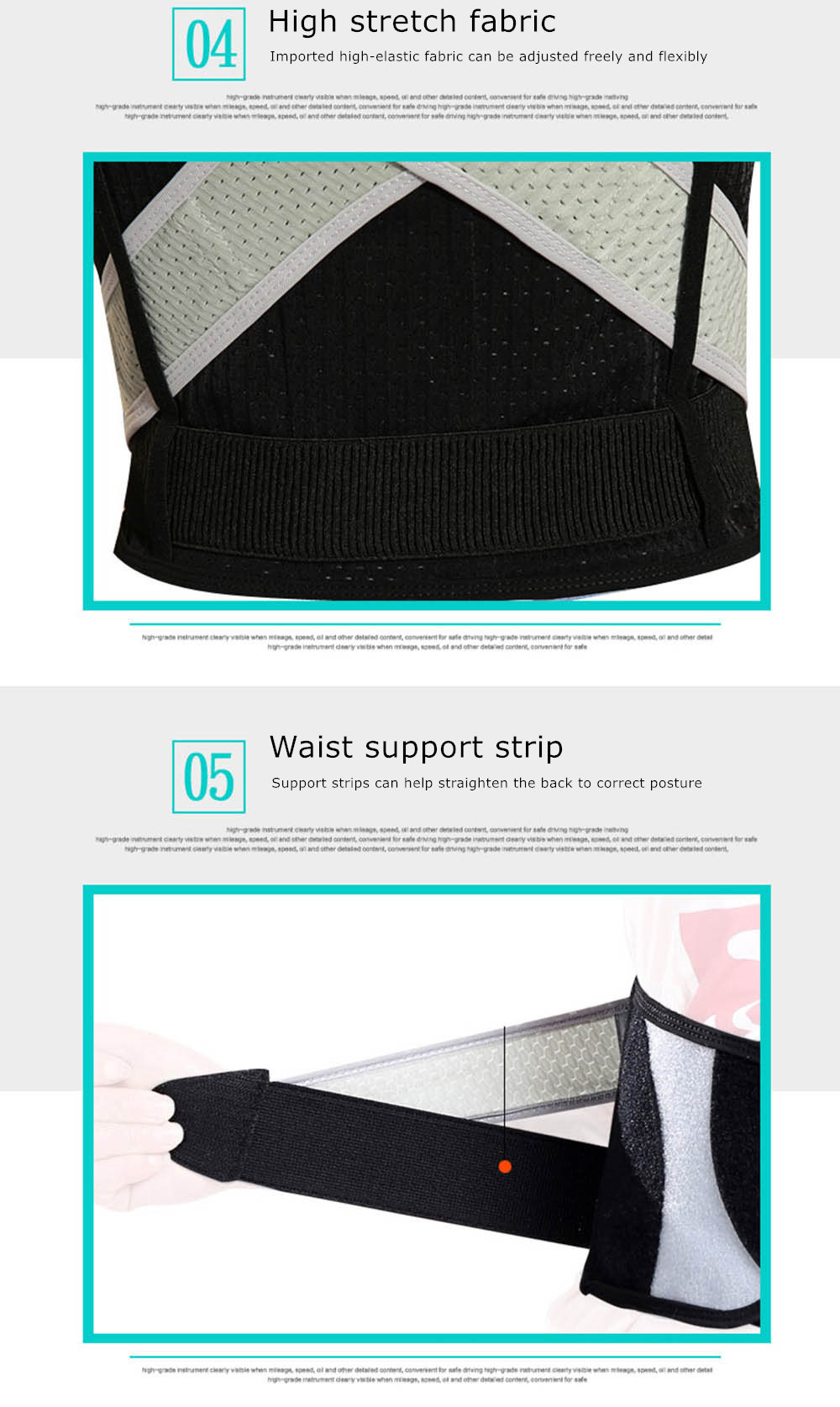 Tlinna Posture Corrector Belt with Adjustable Dual Strap Design to Get Perfect and Confident Body Posture Suitable to Wear Under or Over Clothing 32