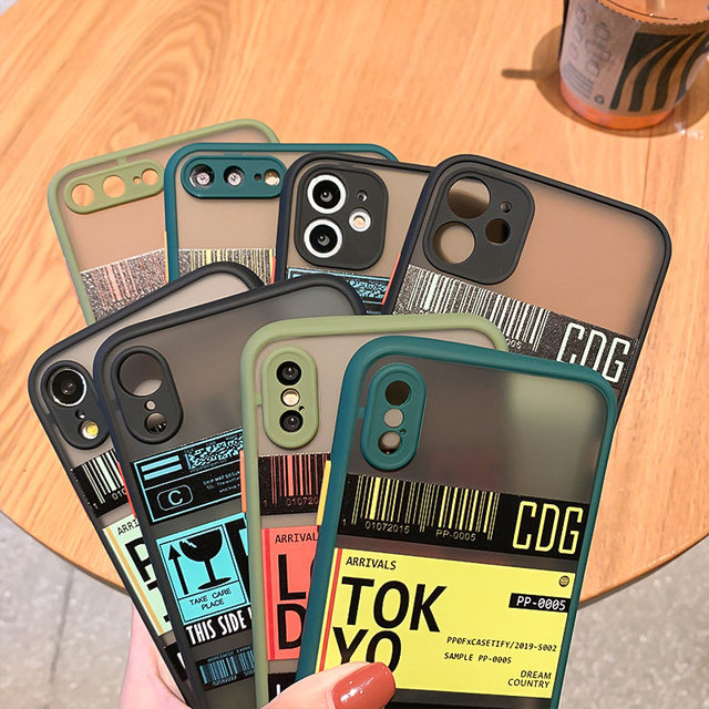 For iphone 12 11 Pro 11Pro 12Pro Max mini 6 7 8 6s Plus Case For Fundas iphone X XR XS max SE 2020 Apple Cute Phone Cases Cover 2