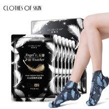 Вулканическая грязь отшелушивающая маска для ног отбеливающая Омолаживающая увлажняющая пилинг для кожи носки Уход за кожей одежда для кожи
