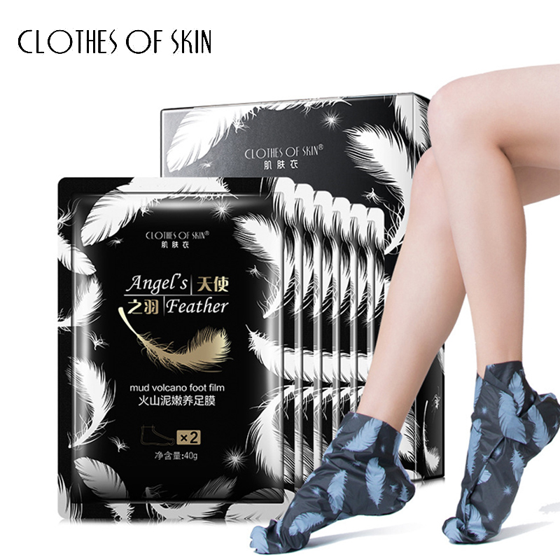 Volcanic Mud Remove Foot Exfoliating Foot Mask Whitening Anti-Aging Moisturizing Peeling Skin Socks Skin Care Clothes Of Skin