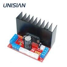 UNISIAN Placa de amplificador de Audio para coche, TDA7850, 4,0 canales, 4X50W, alta potencia, TDA7850, ampladores de cuatro canales para sistema de Audio de coche