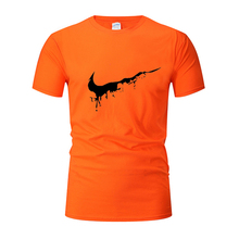 Cotton T shirts Men Gym Fitness Sport running tshirts O-neck Comfortable tee Brand breathable short sleeve men jogger Sportswear
