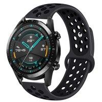 Cinturino in Silicone 22mm per Samsung Galaxy Watch 46mm 42mm cinturino sportivo per Samsung Gear S3 Frontier/Classic active 2 Huawei Watch 2