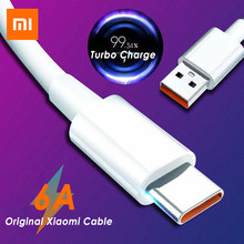 6a original xiaomi tipo de cabo c turbo carregador cabo usb c 33w carga rápida 4 + 5a 2m para redmi nota 10 pro k40 pro + xiaomi mi 11
