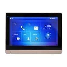 Dh logotipo multi idioma vth1660ch 10 polegada toque monitor interno, monitor de campainha ip, monitor de vídeo porteiro, sip firmware versão