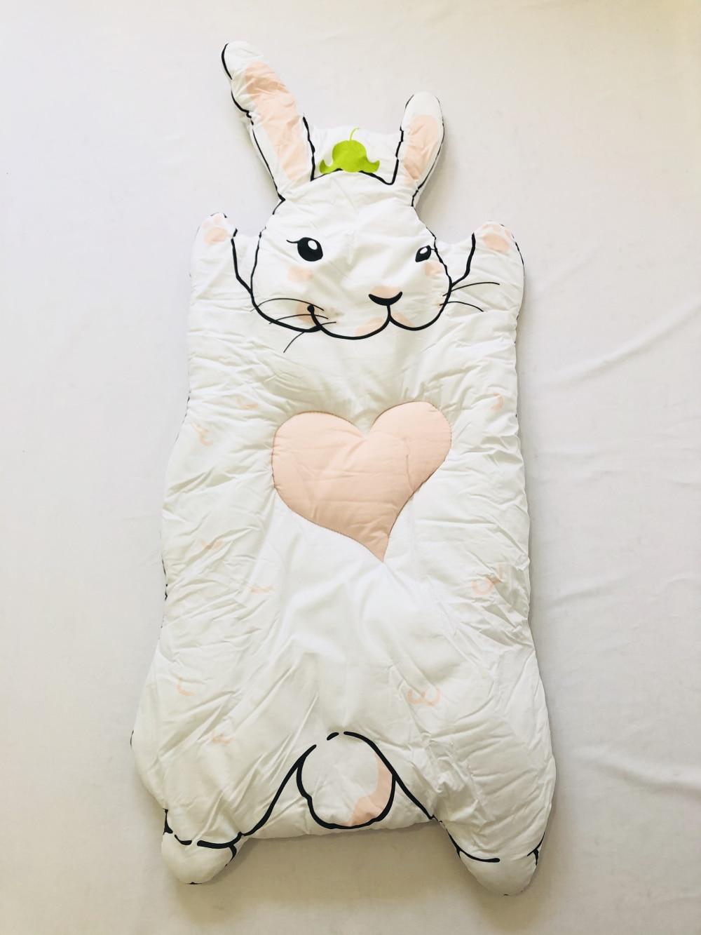 INS Белый Кролик енот игровой коврик детское одеяло утолщенный ползающий коврик игровой коврик - Цвет: Thick Bunny