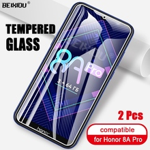 2 PCS Full Tempered Glass For Huawei Honor 8A Pro Screen Protector tempered glass For Huawei Honor 8A Pro Protective Film 2pcs full cover tempered glass for huawei honor 8a pro honor 8a protective glass screen protector for huawei honor 8a pro
