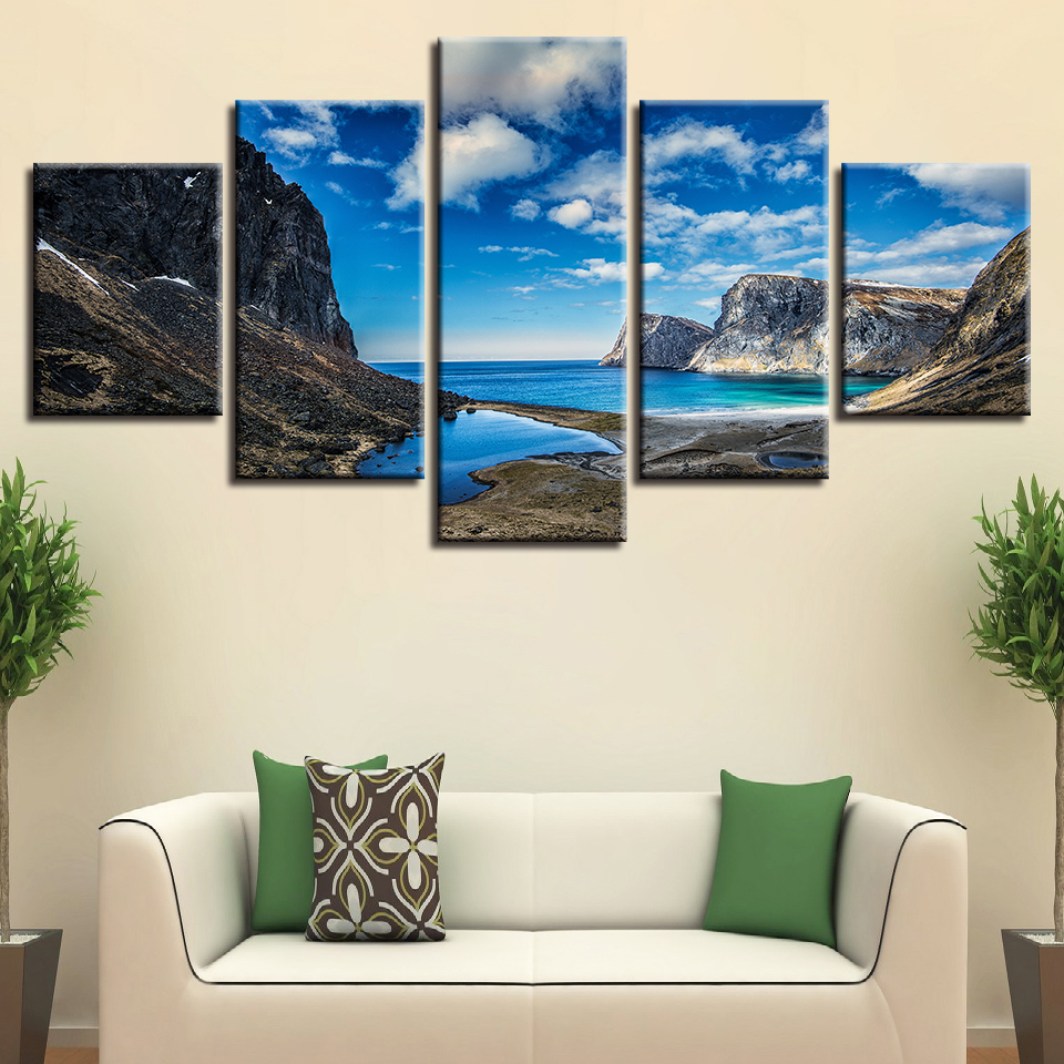 Hd98c6c03367142928314eee6bf041bea9 Canvas HD Prints Paintings Wall Art Home Decor 5 Pieces Welcome Dropshipping Wholesale We Can Provide All The Pictures
