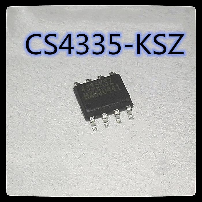 (100 шт.) CS4335-KSZ лапками углублением SOP-8 CS4335KSZ цифро-аналоговый преобразователь чип новый и оригинальный
