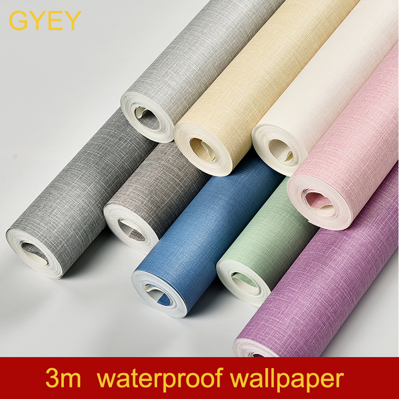 Colorful DIY Decorative Film PVC Self Adhesive Wall Paper 3m Furniture Renovation Stickers Kitchen Cabinet Waterproof Wallpaper