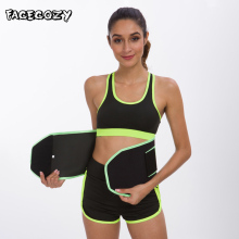 Facecozy Sports Waist Compression Trainer Shapers Women Corset Slimming Belt Shaper Body Modeling Strap