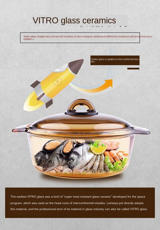 gás panela de cozido sopa aberto