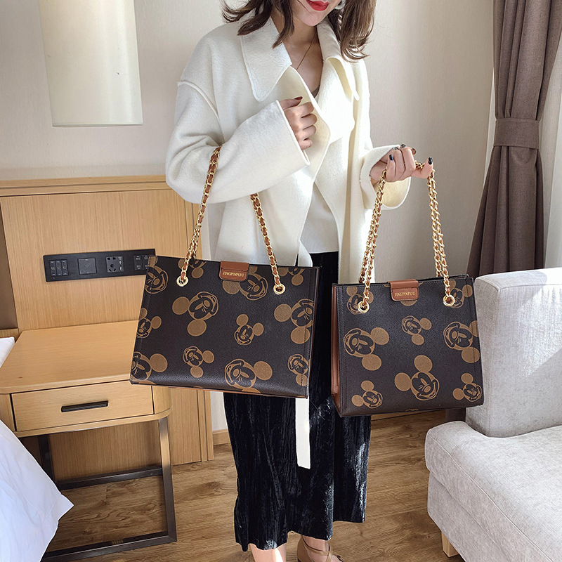 Women Handbag Mickey Bag For Women 2019 Lady Shoulder Crossbody Bag Wild Ladies Shopping Storage Bag Pu Leather Tote Bolso Mujer