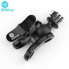 BGNing Diving Lights Ball Butterfly Clip Arm Clamp Mount with ABS Ball Base Adapter For GOPRO Max 9 8 7 for AKASO EK7000 Camera