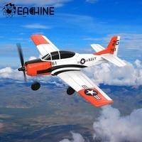 Eachine Mini T28 RC Avión de EPP 400mm envergadura 2,4G 6-Axis Gyro entrenador de ala fija RTF regreso con una sola tecla para principiantes