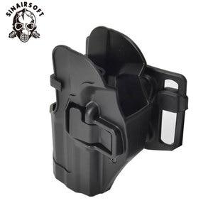 Image 4 - SINAIRSOFT CQC HK USP Belt Tactical Holster Black Paddle Right Hand or Left Hand Pistol Gun Holster For HK Compact USP