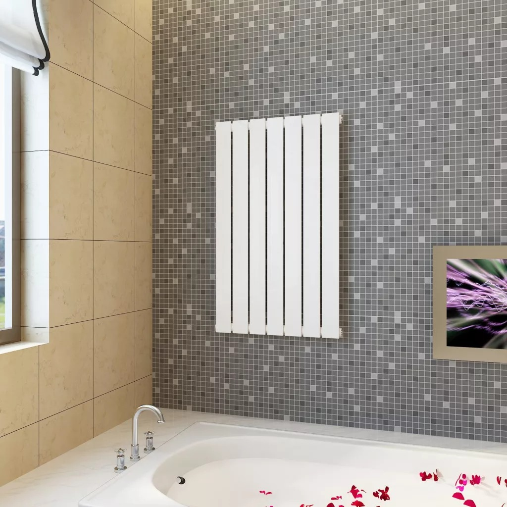 Vidaxl Heating Panel White 900 Mm Designer Radiator Panel High Quality Heating Panel For Any Central Heating System