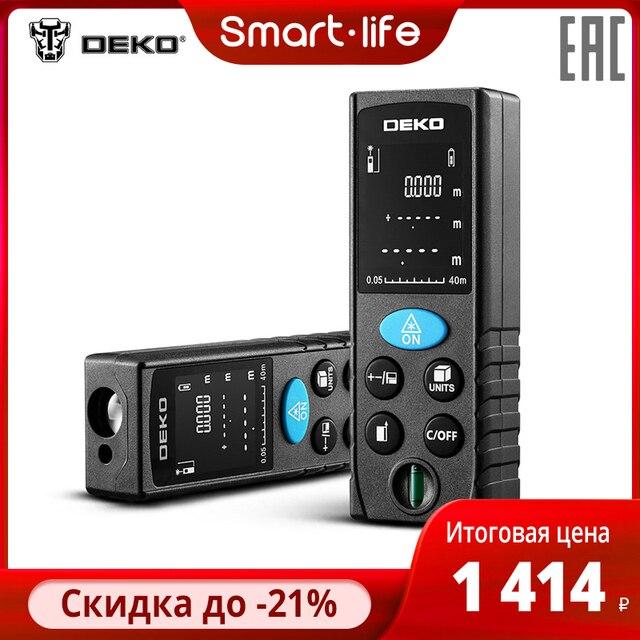 $ US $18.53 Laser distance meter Deko dklrd11 precision measuring 2mm range 40 m minimum measuring distance 5 cm shipping
