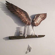 Angel-Wings for Living-Room Bedroom Decoration Garden Statue Artwork Sculpture 3D