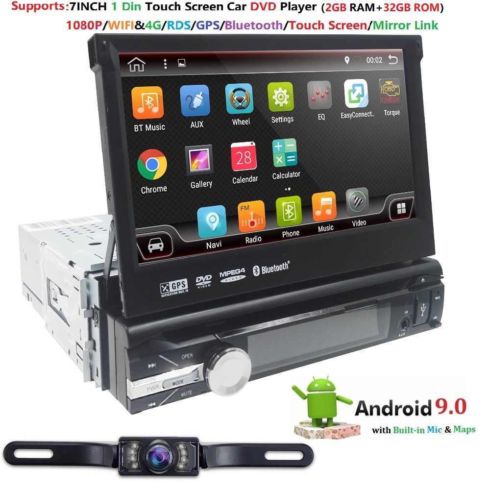 "Hizpo Quad Core 7 ""1Din Android 9.0"
