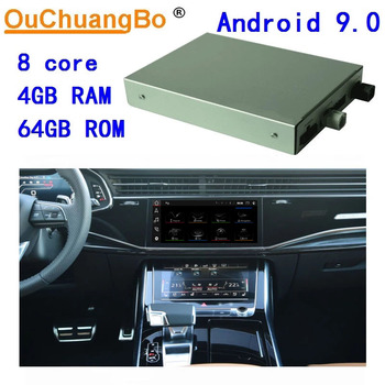 Ouchuangbo decoder box for Benz A B GLE class 2019-2020 with android 9.0 intergrated smart host 8 core 4GB RAM 64GB ROM image