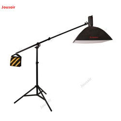 Professional flashlight air cushion dual use rack horizontal dry side lamp ceiling light stand with cross arm CD50 T07 RR1