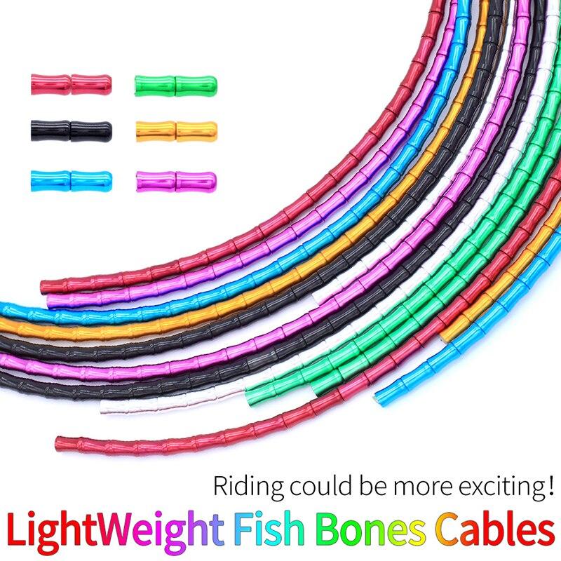 Brake Cable Set Derailleur Shift Housing Aluminum Alloy Links For Road Bike