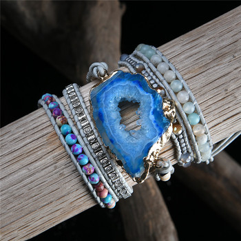 Gemstone Wrap Bracelets For Women