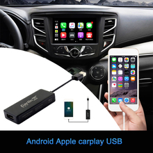 Reproductor Multimedia con Android para coche, reproductor con Android, enlace Dongle, módulo USB de Carplay, conexión de proyección de teléfono, caja de Carplay para IPhone