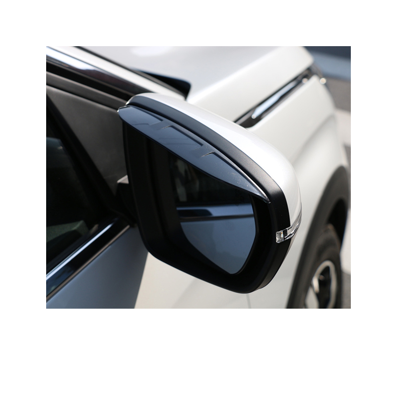 Lsrtw2017 Acrylic Abs Car Rearview Rain Shield Frame for Peugeot 3008 5008 Accessories in Interior Mouldings from Automobiles Motorcycles