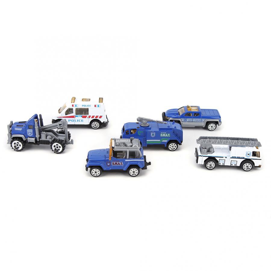 Baby Kids Mini Pull Back Model Car Toys Vehicle Sets Children Educational Toys T