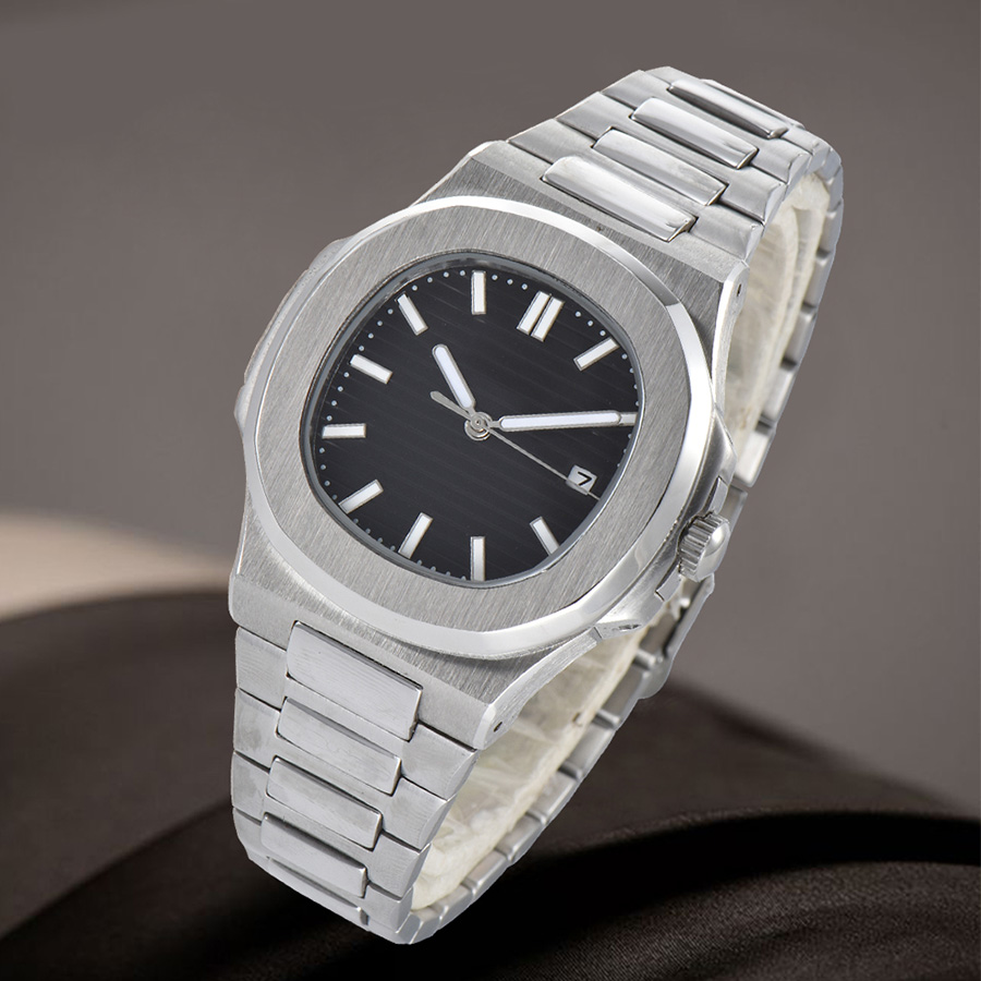watch men  automatic mechanical watch Luminous waterproof date 316L Solid stainless steel  41MM LM100