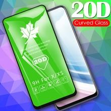 20d vidro temperado para vivo y30 y20s y20 y30i y20i protetor de tela película protetora cobertura completa vidro