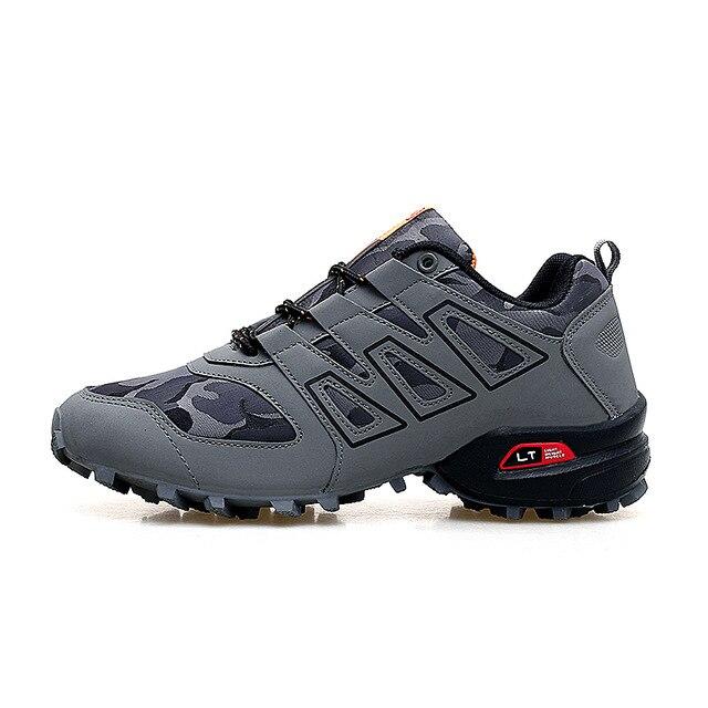 2020 nova moda masculina sapatos casuais à prova de explosão tênis sapatos tamanho grande 46 47 ao ar livre sapatos antiderrapantes fora de estrada esportes