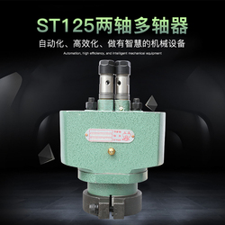 Recommended double lion ST125 adjustable double shaft porous drill two-head automatic drilling rig