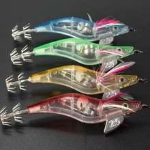 1 шт светящаяся мягкая имитация креветок рыболовная приманка