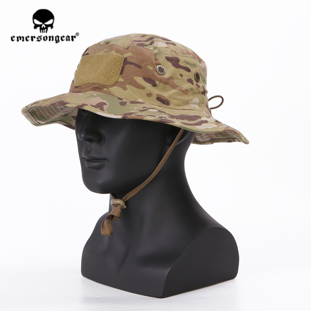 emersongear Emerson Tactical Boonie Hat Adjustable Military Outdoor Sport Fishing Hunting Hiking Camping Headwear Multicam