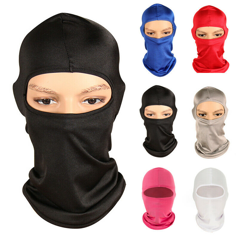 2020 HOT  Motorcycle Face Mask Balaclava Face Shield Ski Cycling Neck Protecting Mask Windproof Outdoor Full Face Mask Soft