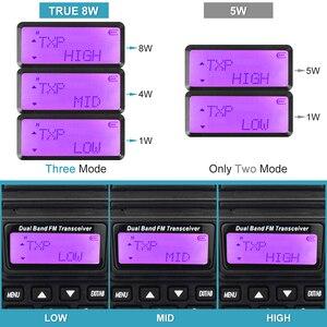 Image 2 - BaoFeng UV 82 ريال 8 واط عالية الطاقة ثنائي النطاق اتجاهين هام راديو 136 174 ميجا هرتز (VHF) 400 520 ميجا هرتز (UHF) الهواة (هام) المحمولة