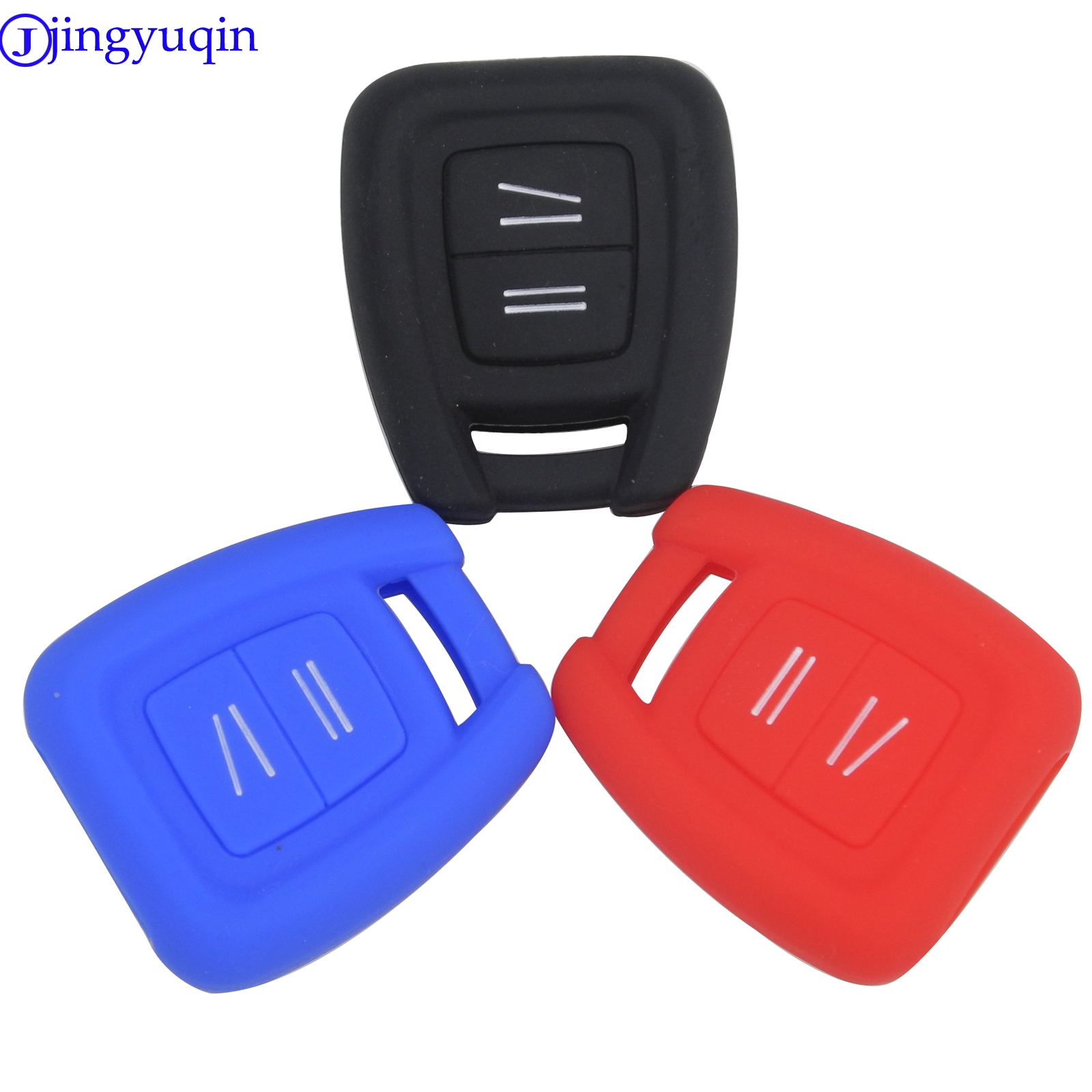 2 Button Remote Car Key Silicone Case FOB Cover For Vauxhall Opel Holden Astra Zafira Vectra Tigra Omega Signum Styling