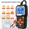 KONNWEI KW650  6V 12V Car Battery Tester 100-2000 CCA Motorcycle Battery System Analyzer Charging Cranking Test Diagnostic Tool review