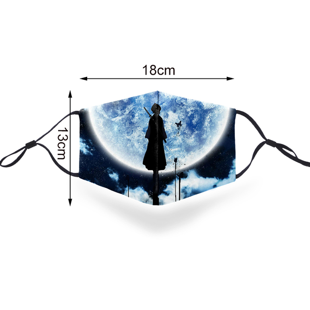 Anime Your Name Protective PM2.5 Filter Masks Mens Fashion Masks Washable Reusable Masks Dust-proof Kpop Women 3D masque lavable 2
