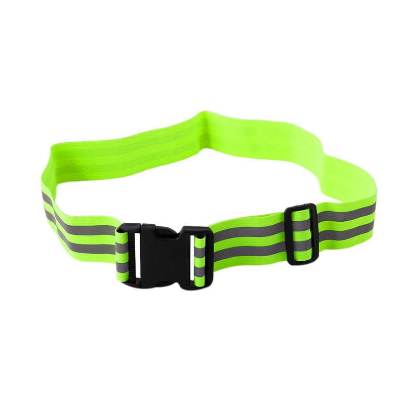 High Visibility Reflective Safety Security Belt For Night Running Walking Biking AXYF