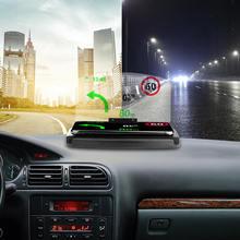 """6,"""" Автомобильный держатель HUD головка вверх дисплей кронштейн для проектирования изображения для gps навигатор телефон автомобиля HUD Дисплей Кронштейн для проектирования изображения"""