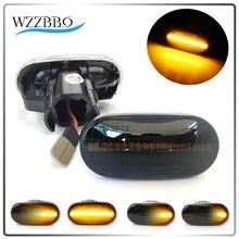 2 PCS Led Dynamic Side Marker Turn Signal Light Amber Sequential Blinker Light For HONDA Civic Acura Del Sol Integra S2000