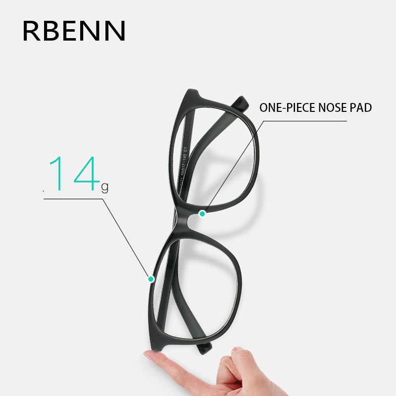RBENN duże oprawki do czytania okulary kobiety mężczyźni Ultralight okulary do czytania z dioptrii + 0.75 1.75 2.75 3.25 3.75 4.5 5.0 6.0